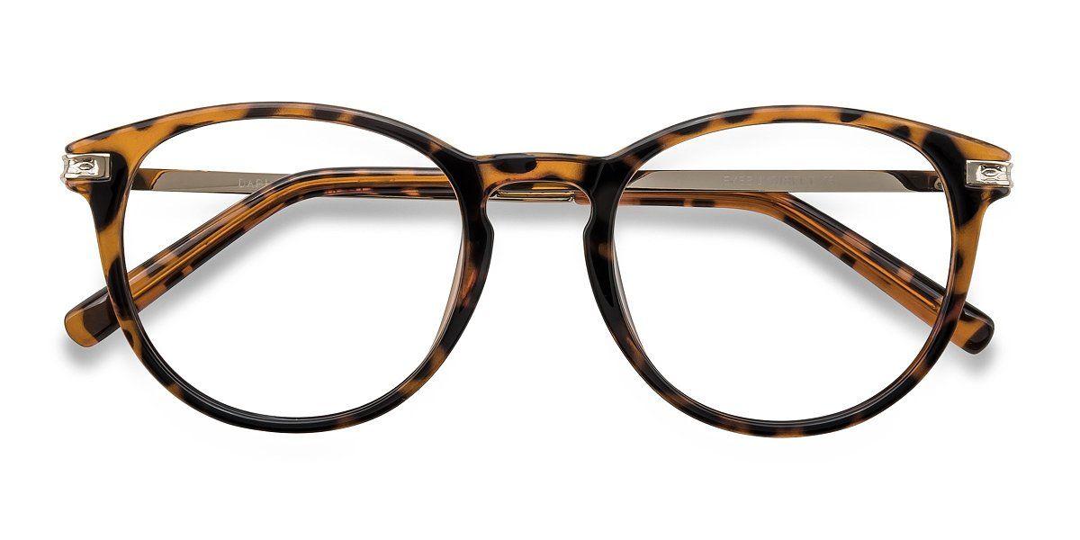 Daphne Round Brown Tortoise Frame Glasses For Women Eyeglass Frames For Men Eyeglasses Fashion Eye Glasses