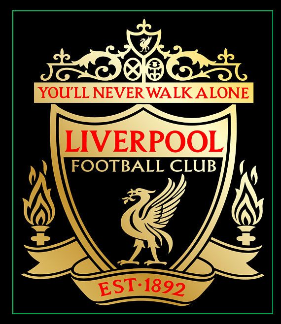 Items similar to liverpool logo in 3 sizes for any vinyl decal iphone decal cell phone decal car decal cell phone sticker gift stickers wall decorations on