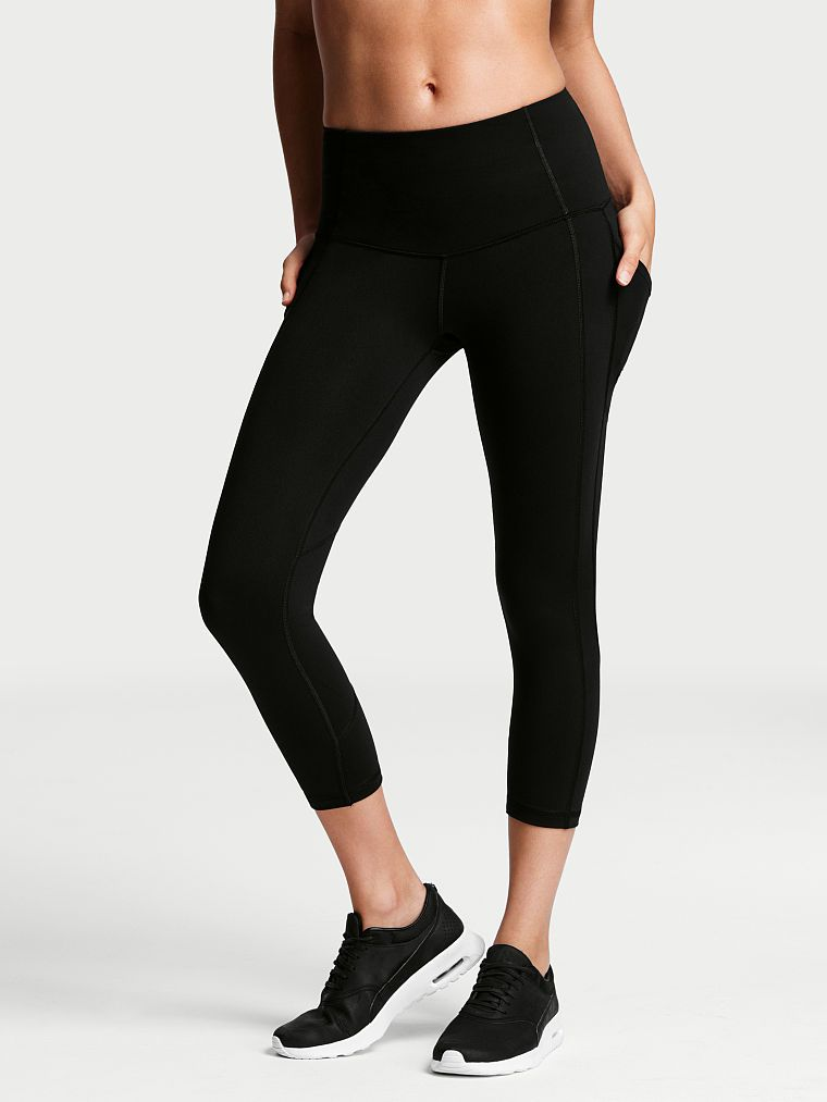 a62d71dce80fd Knockout by Victoria Sport High-rise Pocket Capri - Victoria Sport - Victoria's  Secret