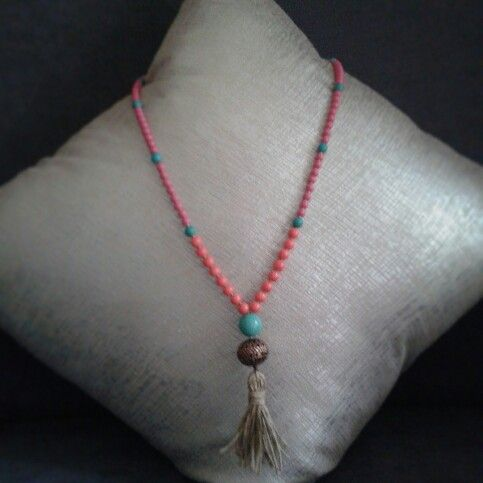 #mala #mantras #meditación #turquesa #trendy #pink #amuletos #outfit #fashion #rosariobudista