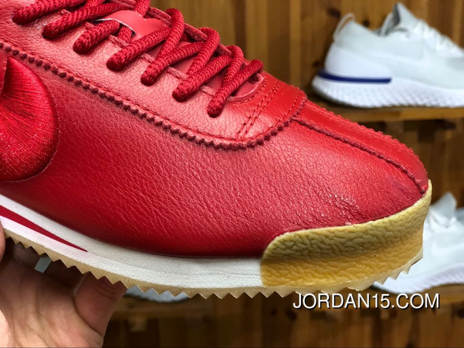 san francisco a434a 644ce Nike Cortez  72 SI 881205 600 Retro Originals Classic Running Shoes Gym Red Gym  Red-White-Gum Light Brown Latest
