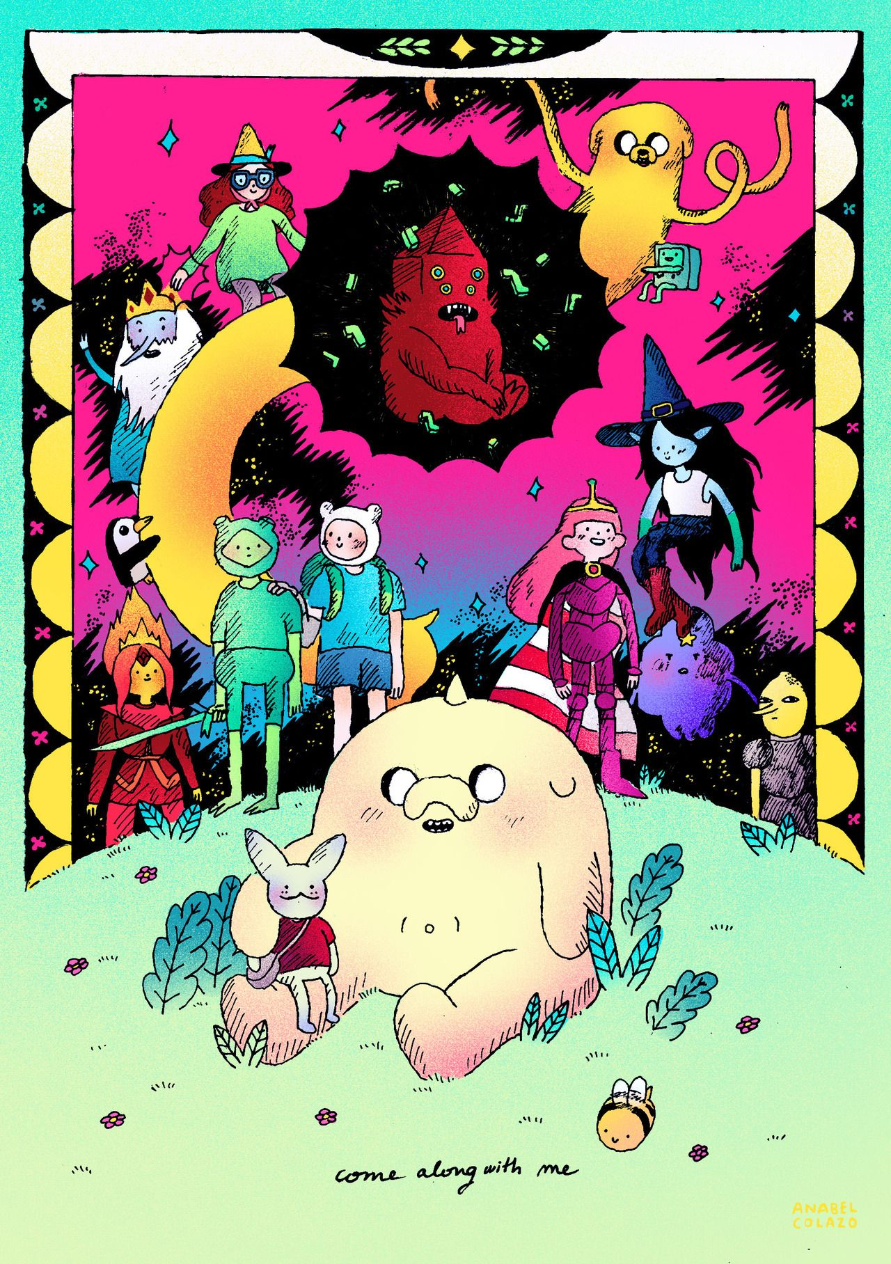 Come Along With Me Adventure Time Anime Adventure Time