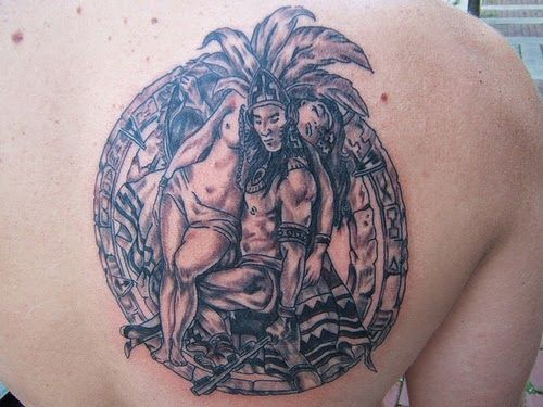 82 Tatuagens Astecas | Leles Tattoo
