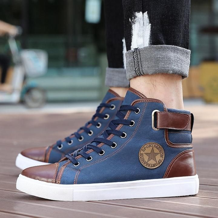 GoSkater High Pipe Shoes For Men – Moda masculina