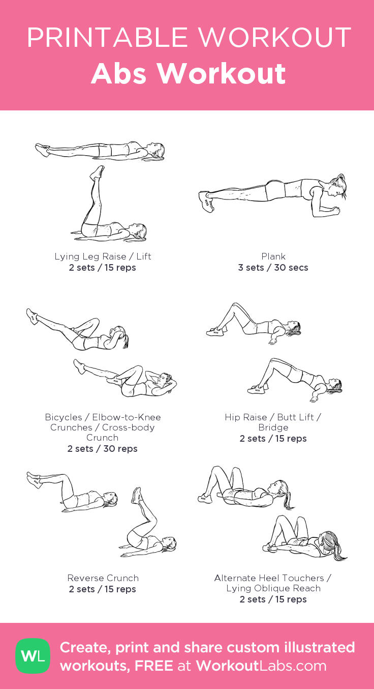 Abs Workout · WorkoutLabs Fit
