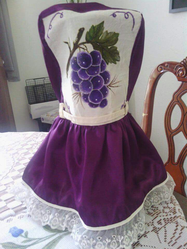 Ramillete de uvas. Vestido para licuadora | Crafts & Decor ...