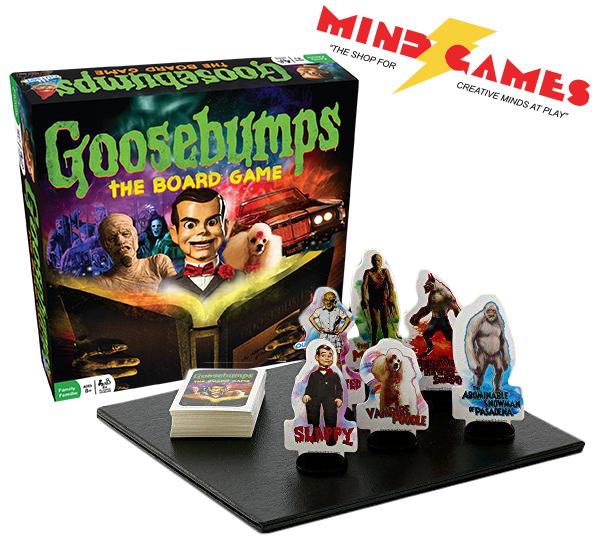 Goosebumps the Board Game Board games, Goosebumps