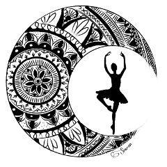 design ballet blackandwhite girl wdpmandala freetoedit