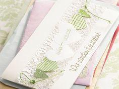 DIY-Anleitung: Einladungskarte für die Hochzeit selber machen  via DaWanda.com
