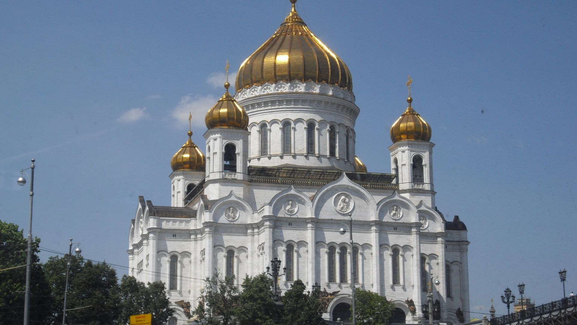 cathedral of christ the saviour, moscow, white stone - http://www.wallpapers4u.org/cathedral-of-christ-the-saviour-moscow-white-stone/