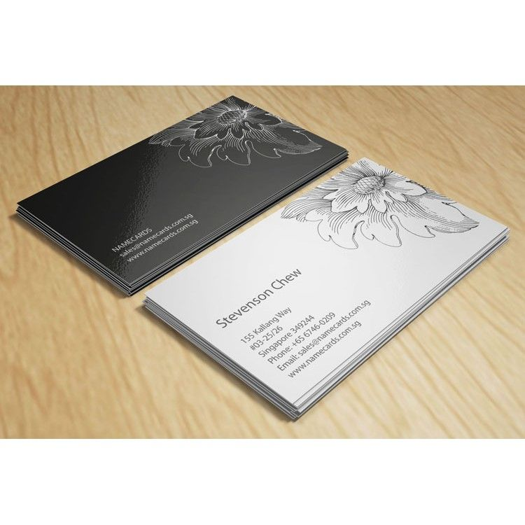 Budget name cards 1 colour black white printing instant name budget name cards 1 colour black white printing instant name card printing reheart Image collections