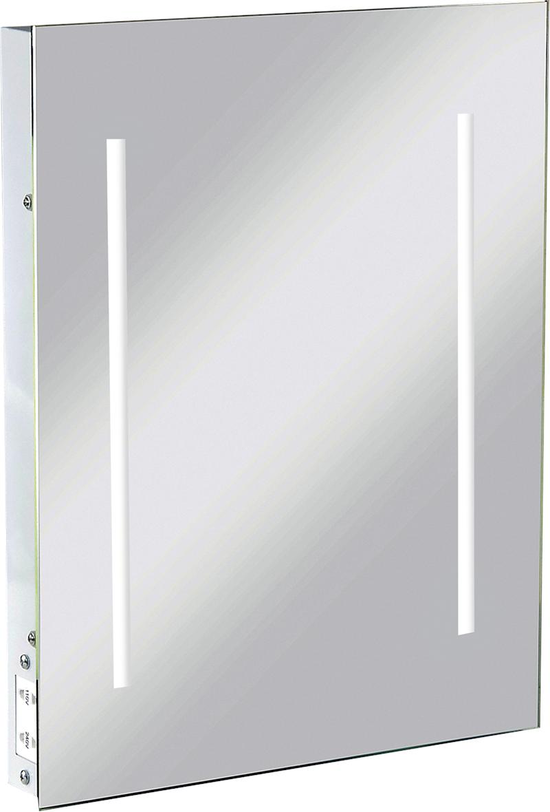 Led Illuminated Bathroom Wall Mirror Ip44 Shaver Socket In 2020
