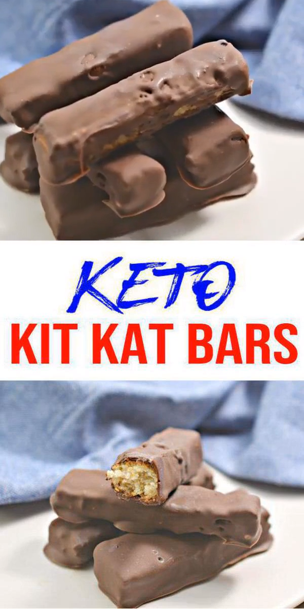 Keto Candy Bar! AMAZING ketogenic diet desserts - Easy simple ingredient chocolate candy. BEST keto dessert, keto snack or keto chocolate Kit Kat candy bar idea. Try a simple & quick homemade keto Kit Kat #chocolate candy bar. Gluten free, sugar free, healthy keto candy recipe. Great sweet & savory treat for a low carb diet. Great on the go snack idea or make ahead after meal idea. Ditch fat bombs for candy bars. Thanksgiving desserts or Christmas food - Check out the BEST keto #candy recipe #easysimpledesserts