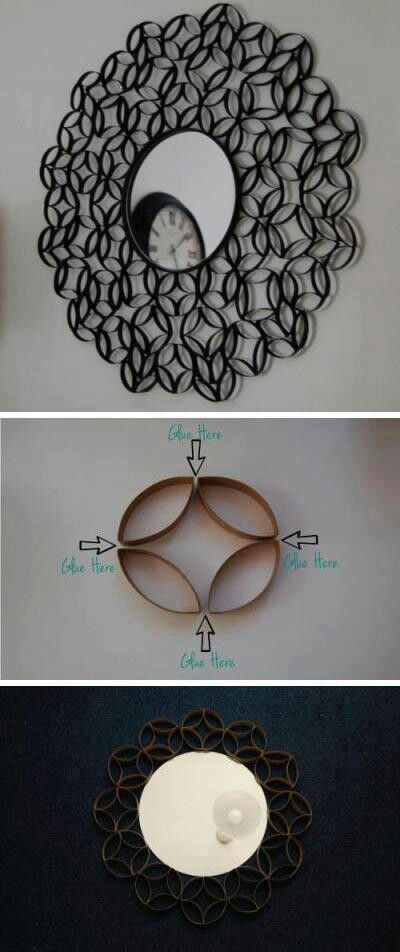 A really good idea for empty toilet paper rolls!