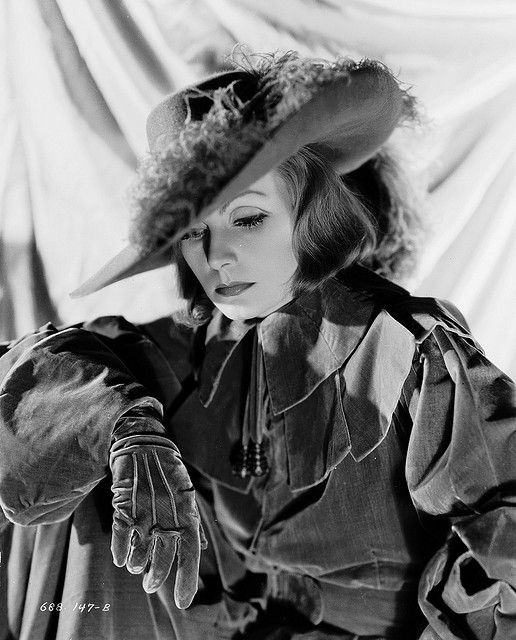 Greta Garbo 'Queen Christina' by Clarence Sinclair Bull, 1933