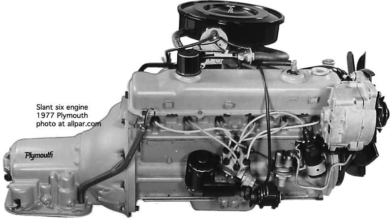 1976 ford f 250 ignition wiring diagram slant six engine mopar  engineering  chrysler valiant  slant six engine mopar  engineering  chrysler valiant