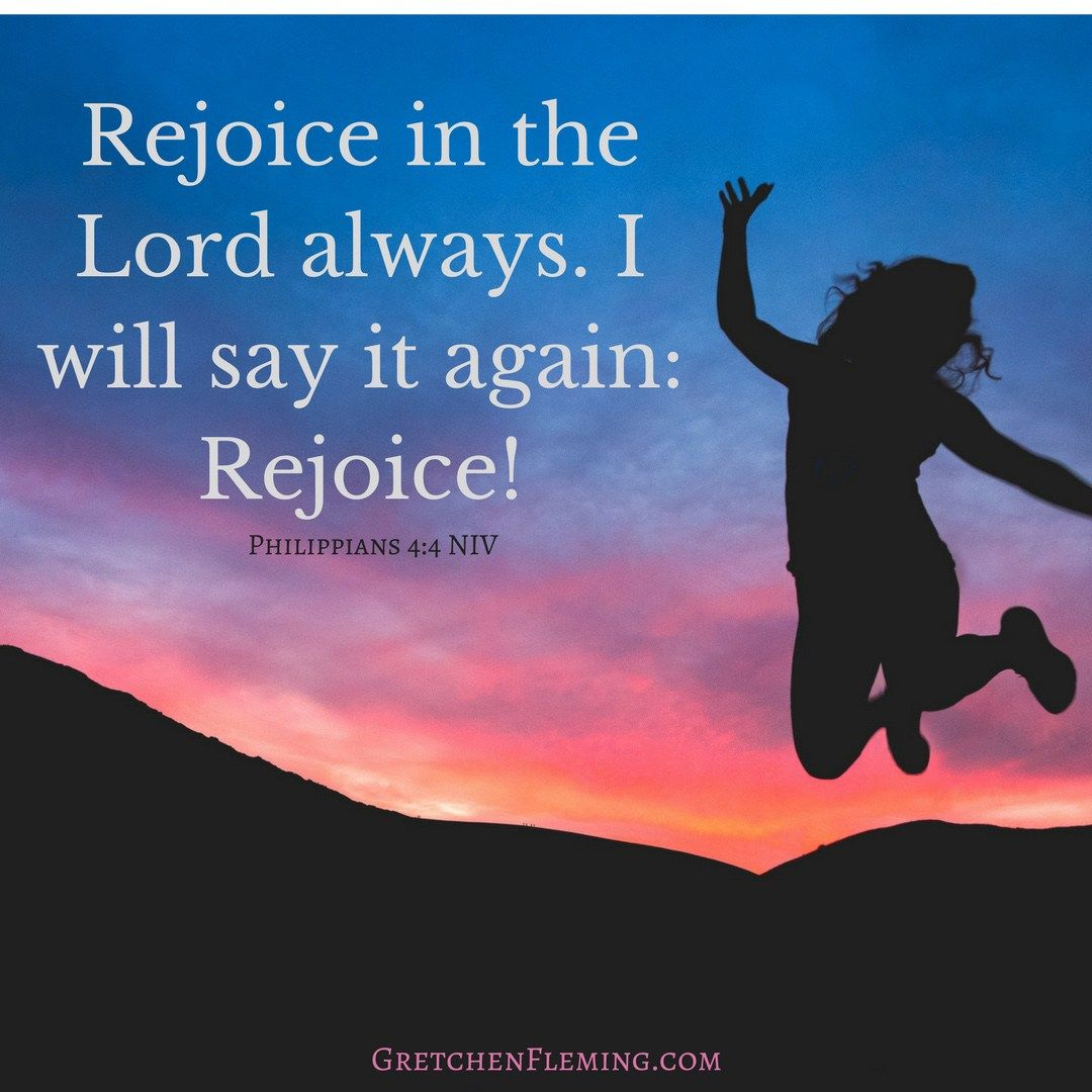 How to learn to rejoice 65