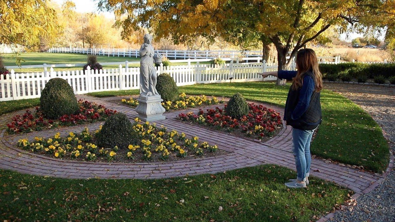 October Garden Tour! 🍁🍂🍁 // Garden Answer Garden tours