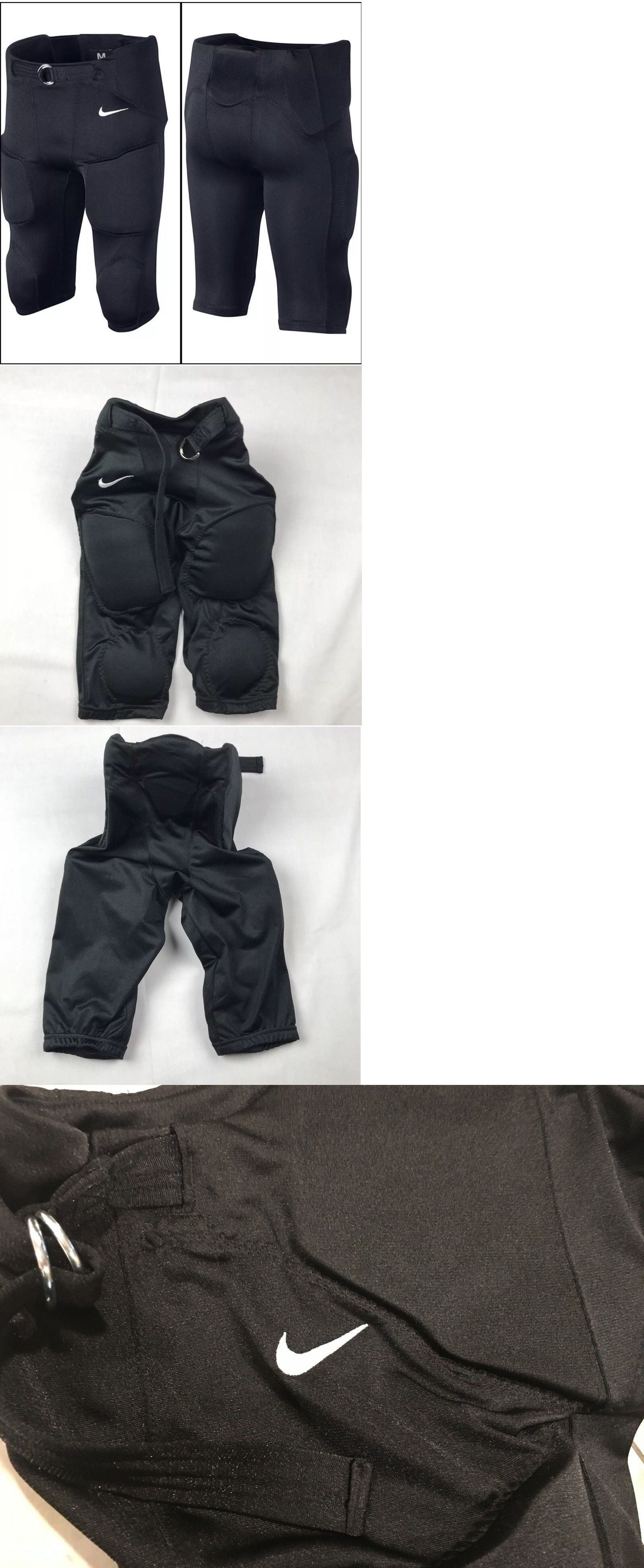 d23daccbd0f6 Clothing 21218  Black Nike Youth Recruit Integrated 2.0 Padded Football  Pants Boys Size M
