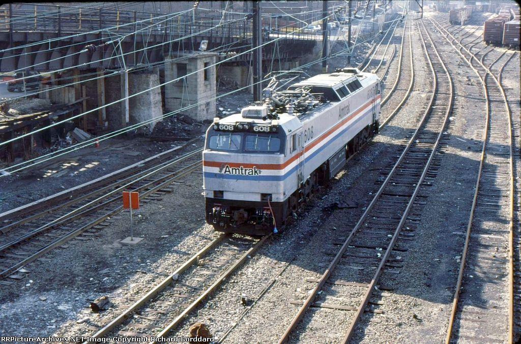 Pin van Anthony Vessella op Amtrak
