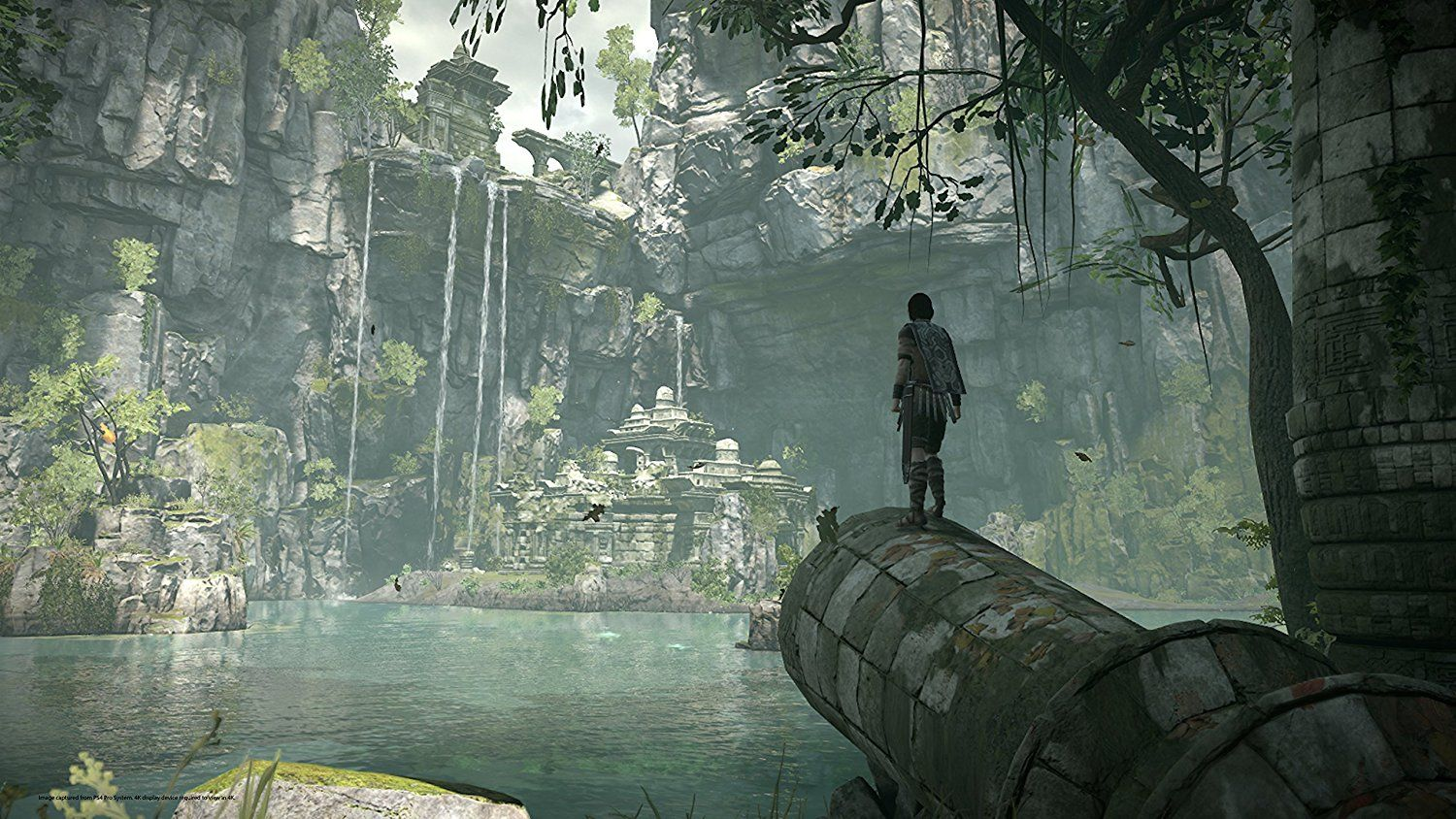 Level design, shadow of the colossus, game screenshot,