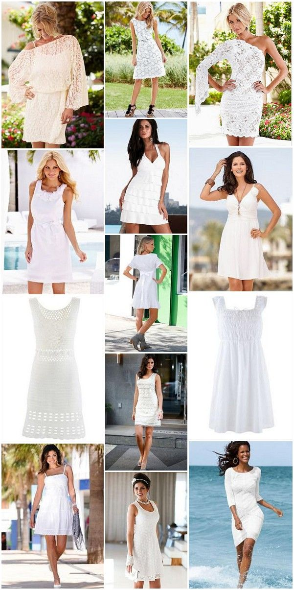 a28923e56c Get ready for summer with a selection of budget friendly little white  dresses, perfect for a post wedding beach party.