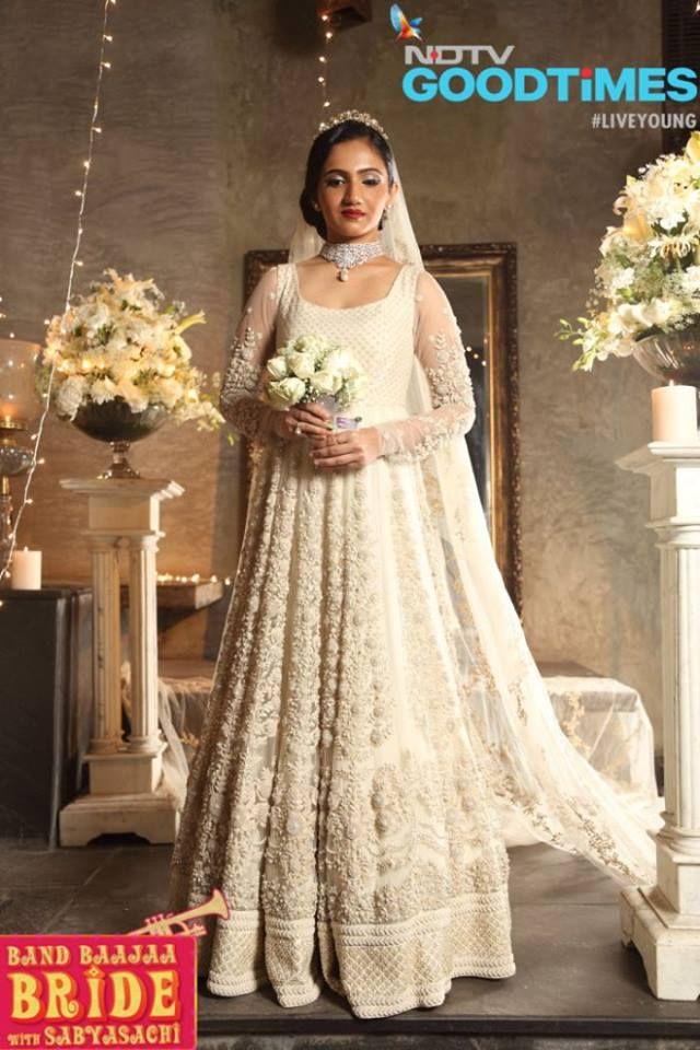 Two Band Baaja Brides A Floral Lehenga A White Gown