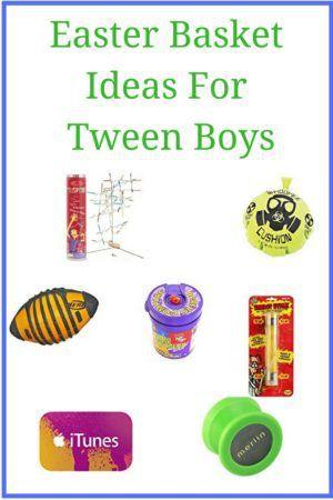 Easter basket ideas for tween boys basket ideas easter baskets easter basket ideas for tween boys negle Images