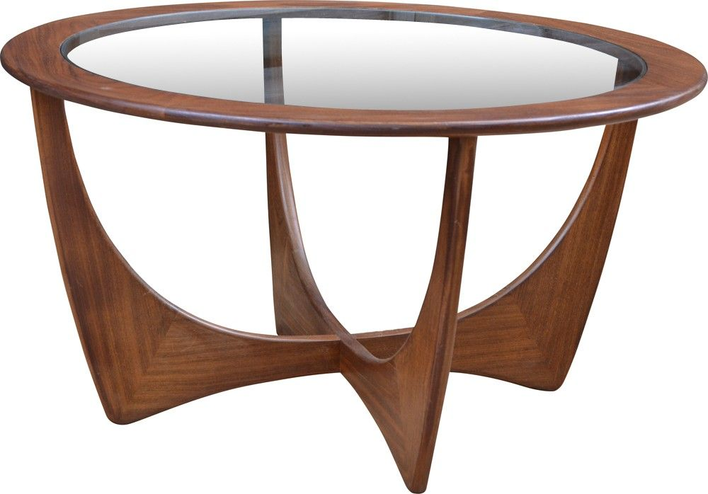 Table Basse Ronde Astro G Plan Victor Wilkins 1960 Coffee