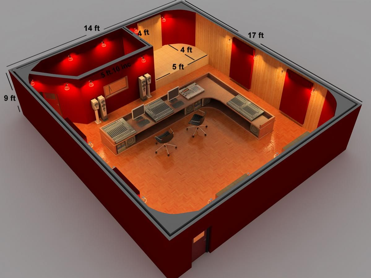 perfect home recording studio design plans ideas for home