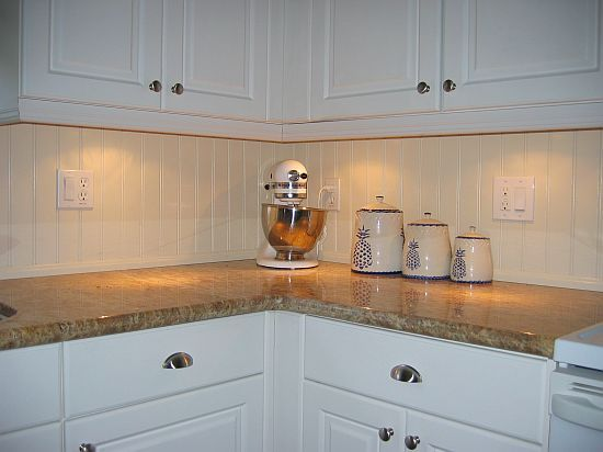 Beadboard Backsplash Beadboard Is A Traditional Architectural Feature That Includes Delicate Vertical Grooves