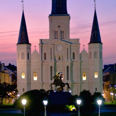 the history of st louis cathedral Saint louis cathedral has an interesting history associated with it's grand organ according to material supplied through the organ historical society, the first documented organ installed.
