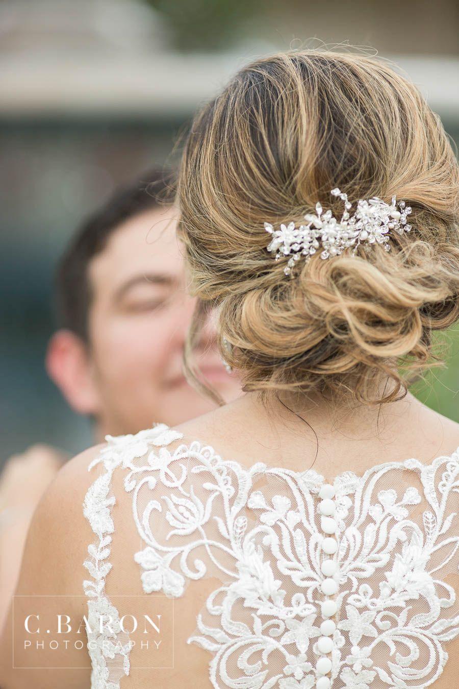 wedding updo   wedding hair accessories   wedding hairstyles