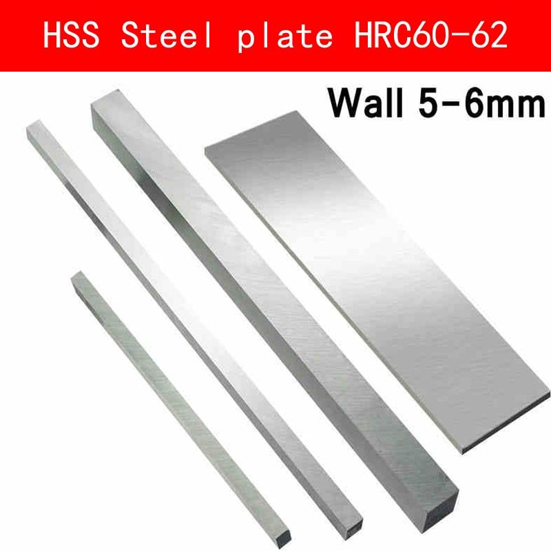 Hss Steel Plate Hrc63 To Hrc65 High Strength Steel Sheet Turning Tool High Speed Steel Hss Plate Sheet Diy Material Wa High Speed Steel Steel Sheet Steel Plate