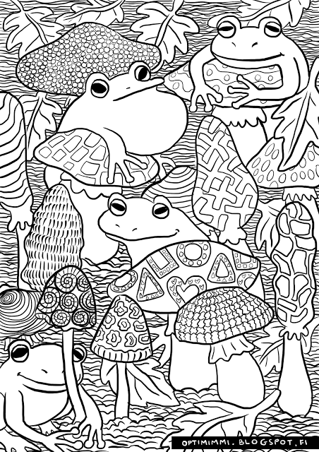 This Image Can Be Printed As A Coloring Page Up To The Paper Size Of A4 Hq Version On The Blog Coloring Books Animal Coloring Pages Coloring Pages