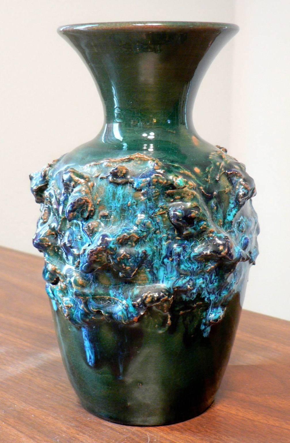 Mid century iceland lava ceramic pottery vase pottery vase mid century iceland lava ceramic pottery vase reviewsmspy