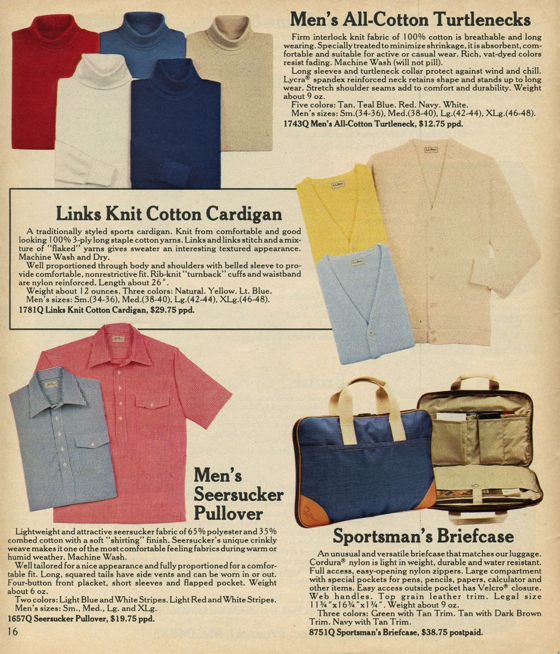 L.L. Bean Spring 1982