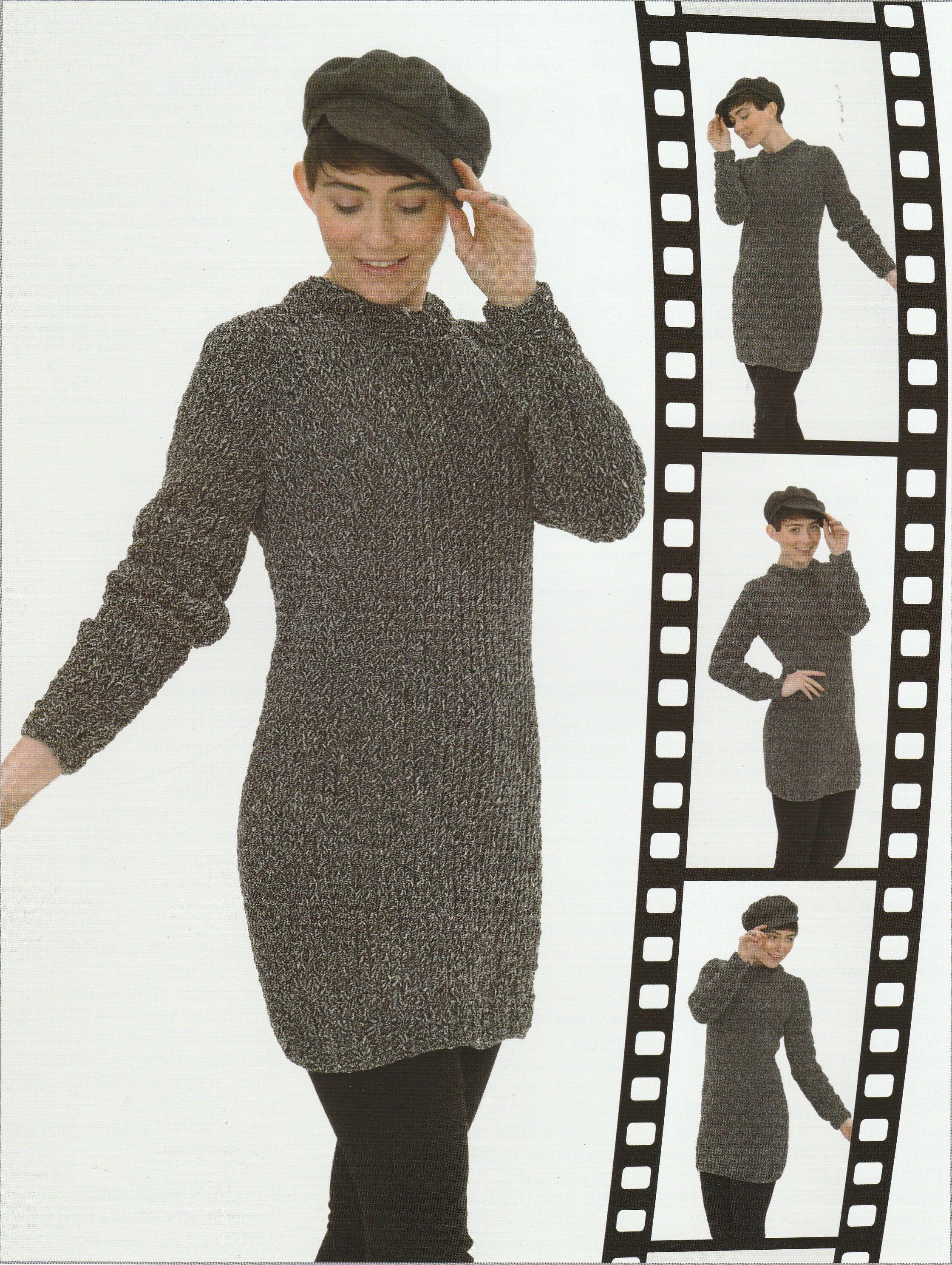 Super Chunky Sweater Dress Knitting Pattern By Threadbaregifts On Etsy Easy Sweater Knitting Patterns Sweater Dress Pattern Etsy Sweater [ 2976 x 2240 Pixel ]