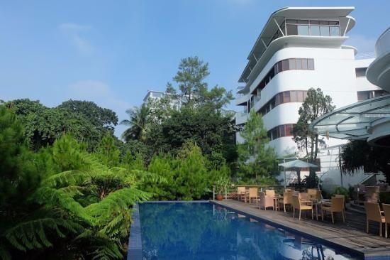 Harga Hotel Di Bandung Yang Ada Kolam Renang Hotel Kolam Renang Pemandangan