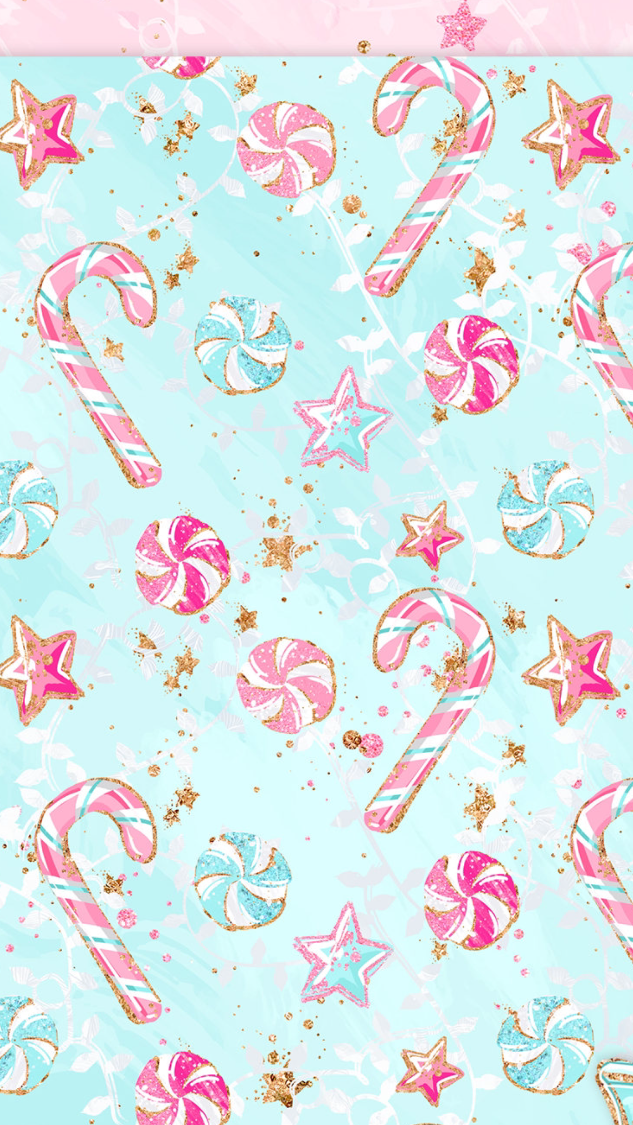 Christmas Candy Cane Mints Stars Wallpaper Iphone Christmas Christmas Wallpaper Christmas Wallpaper Backgrounds