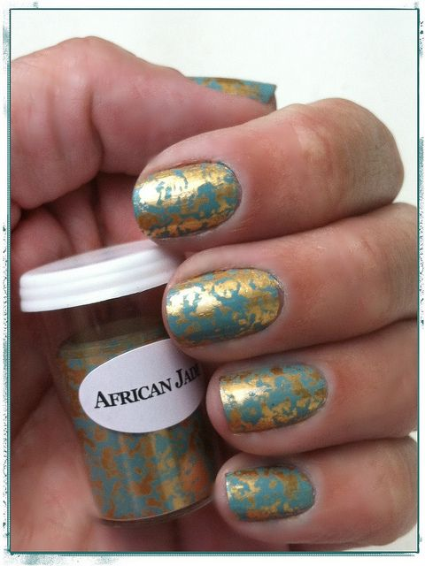 Nail Foil, Jade And Africans