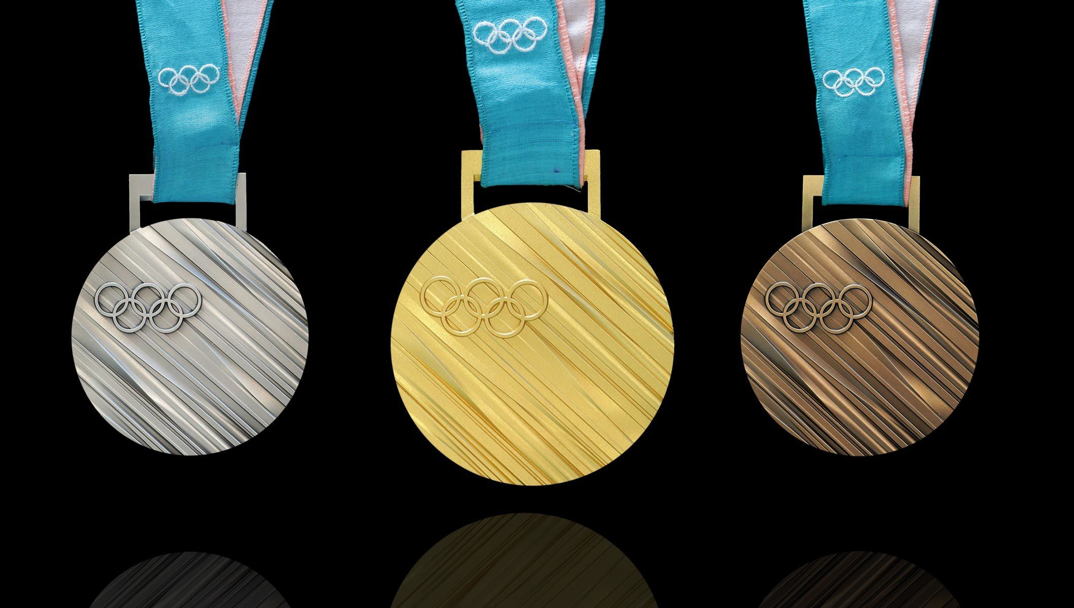 Pyeongchang 2020 Olympic Winter Games Medals By Country.8 Designs And Technologies At Pyeongchang Winter Olympics