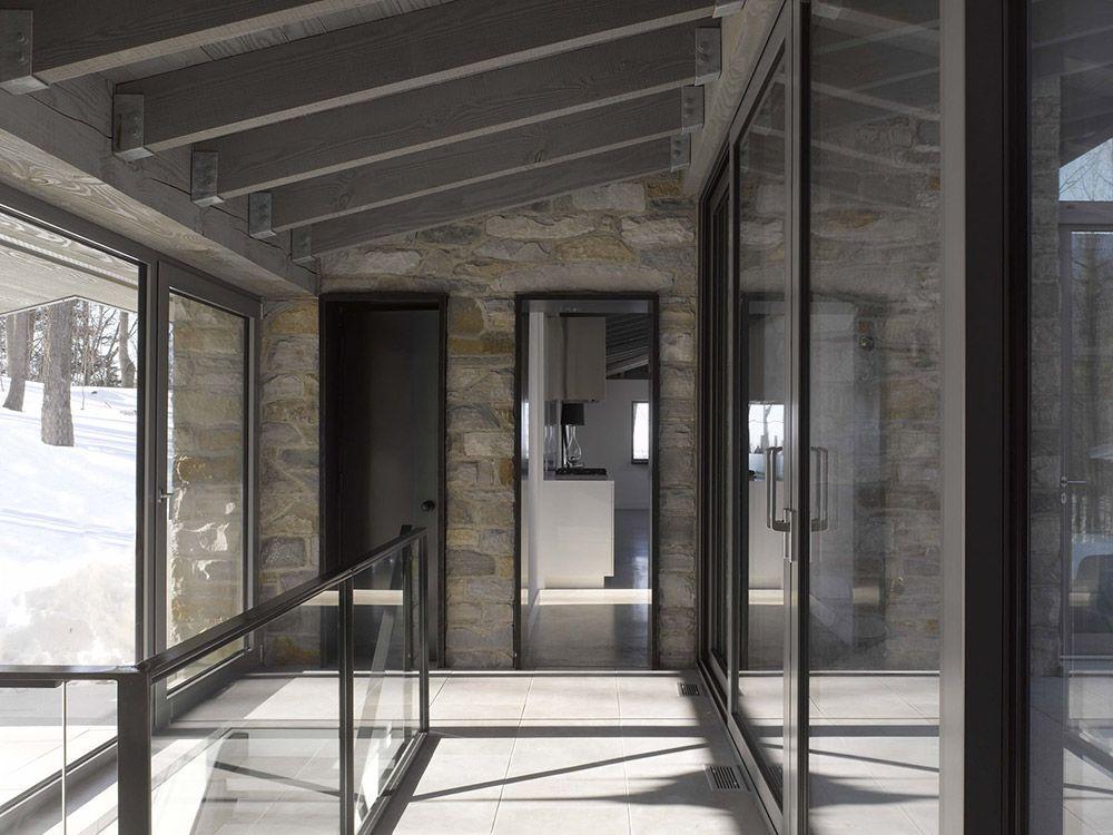 Amazing Gallery Of Bromont House / Paul Bernier Architecte   26 Design Ideas
