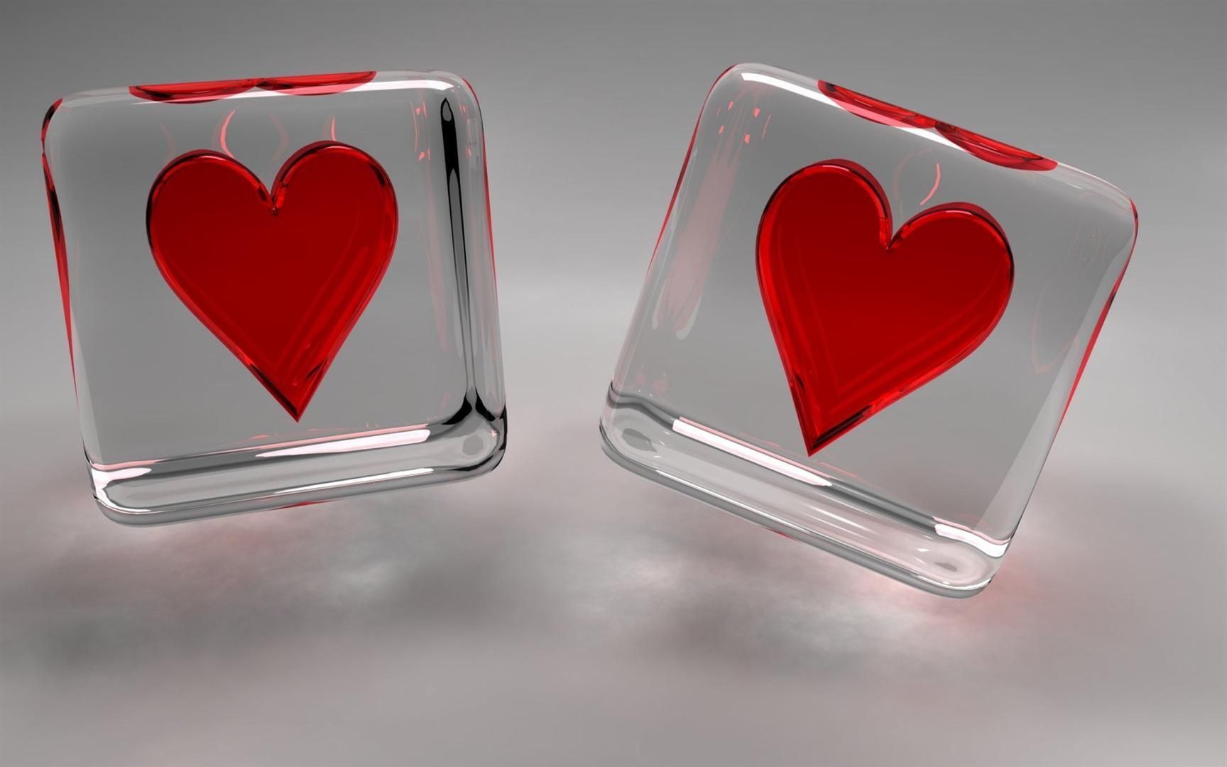 3D Love Hearts Wallpapers