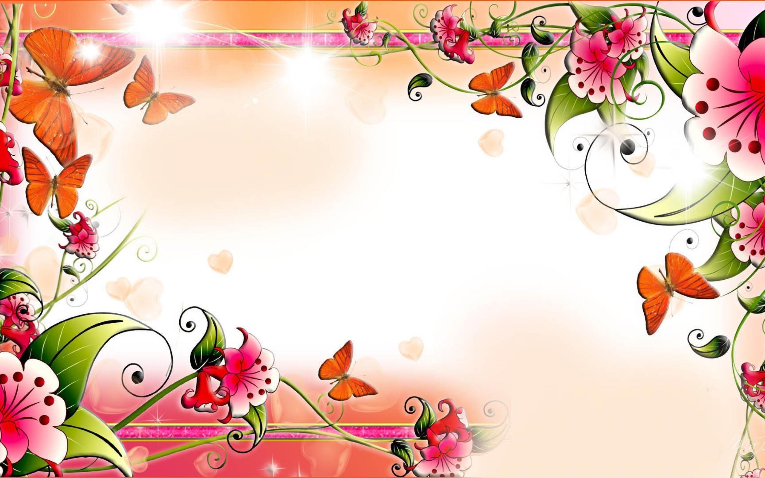 Spring Hd Desktop Wallpaper Spring Butterfly Hd Desktop