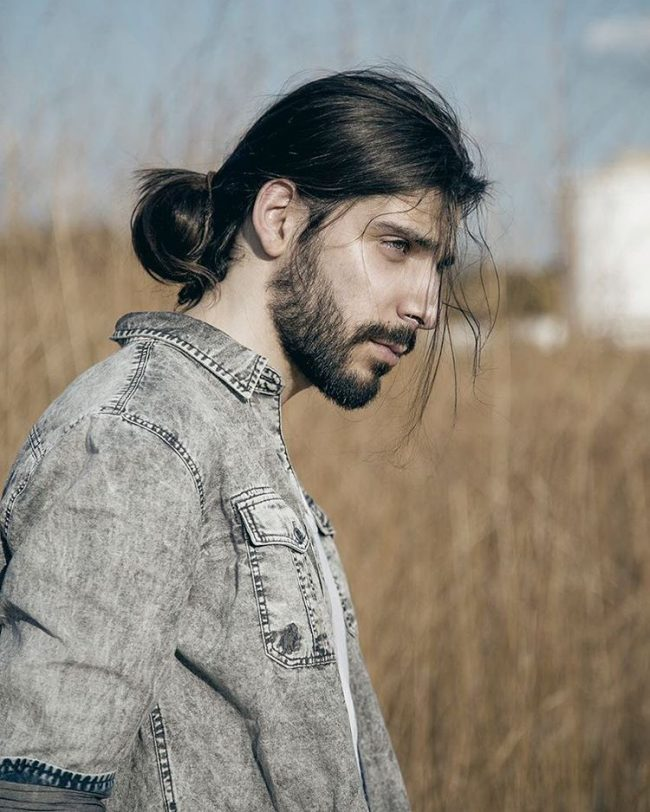 50 Popular Men's Ponytail Hairstyles-(Be Different in 2019 ...