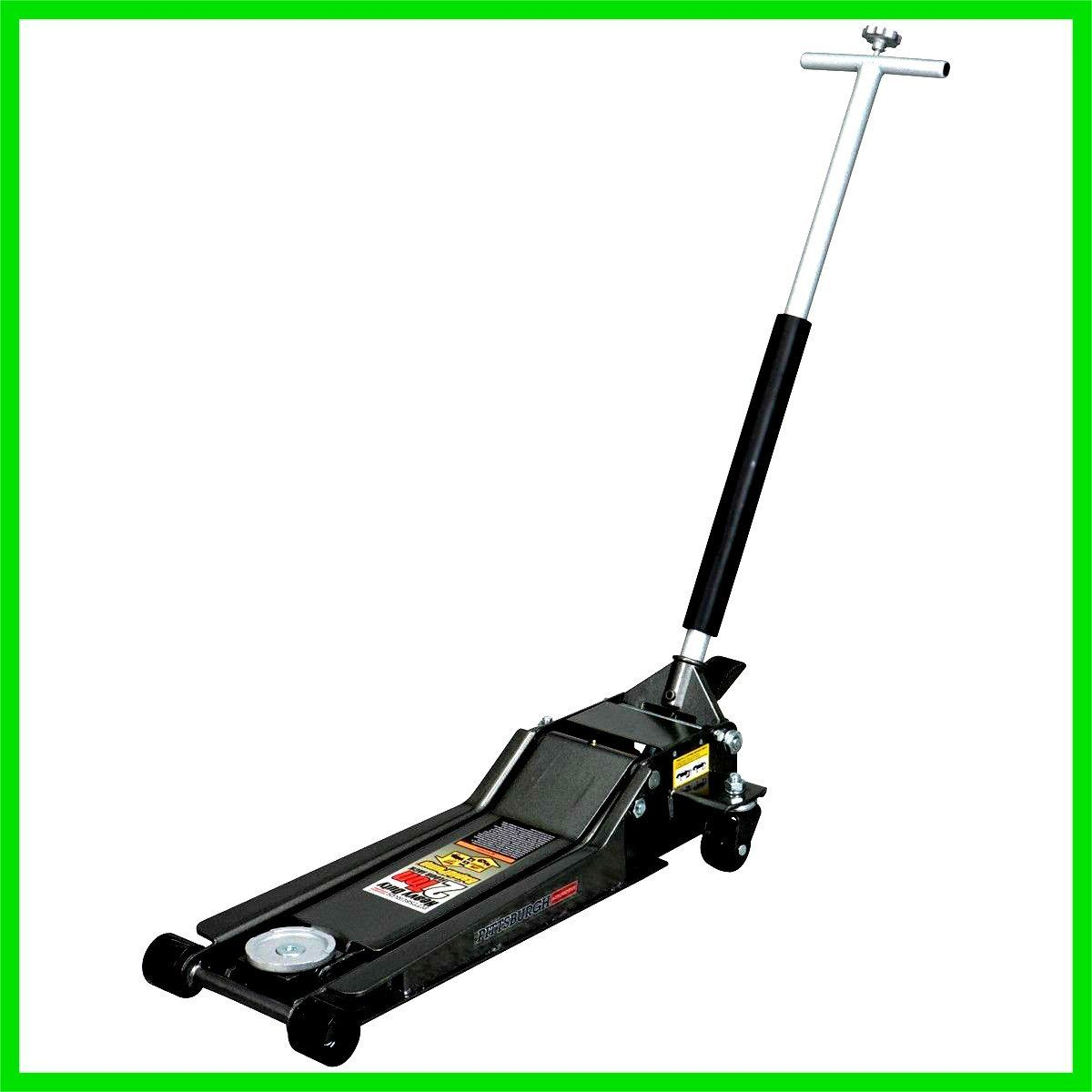 Floor Jack Stand Lifter Low Profile Heavy Duty 2 Ton
