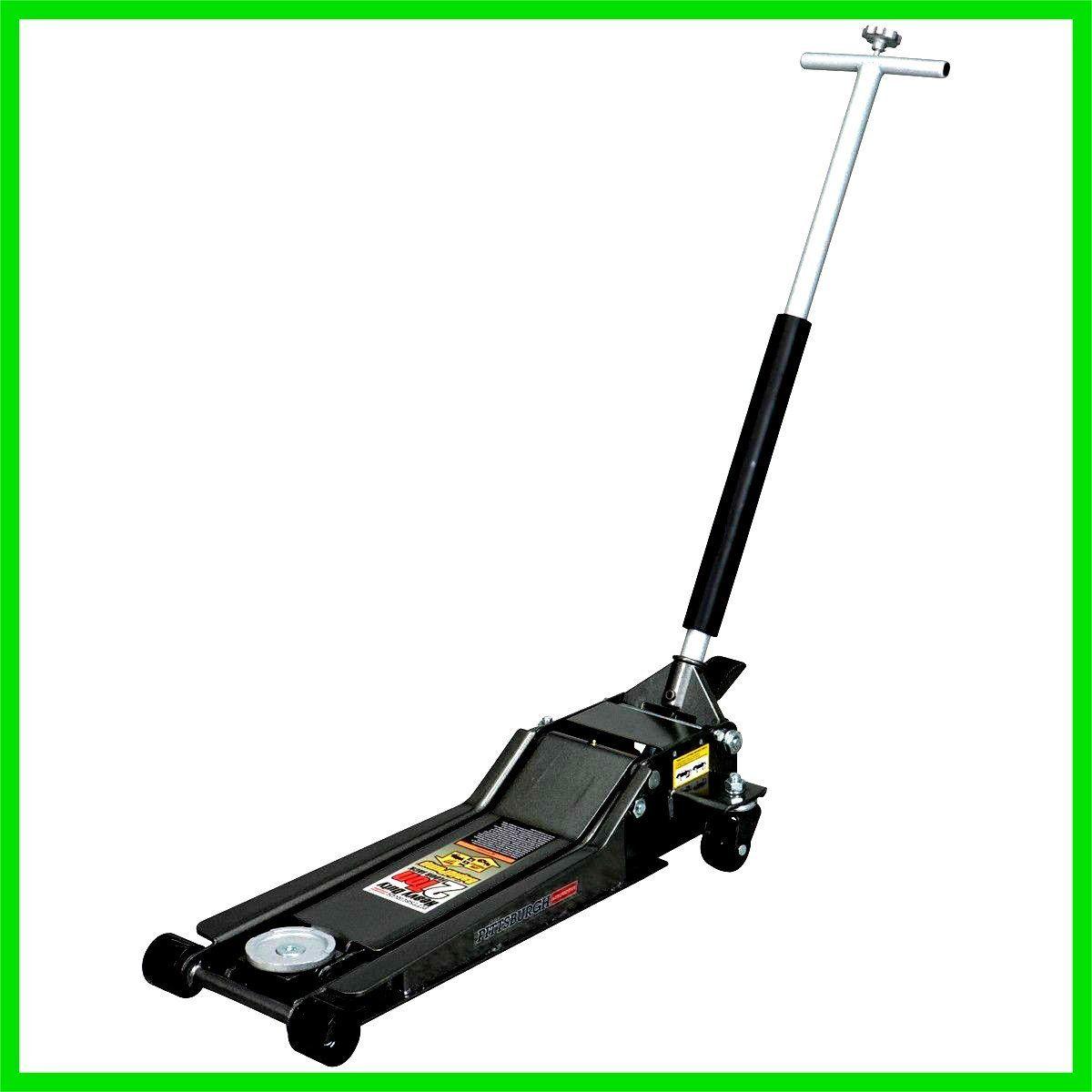 Floor Jack Stand Lifter Low Profile Heavy Duty 2 Ton