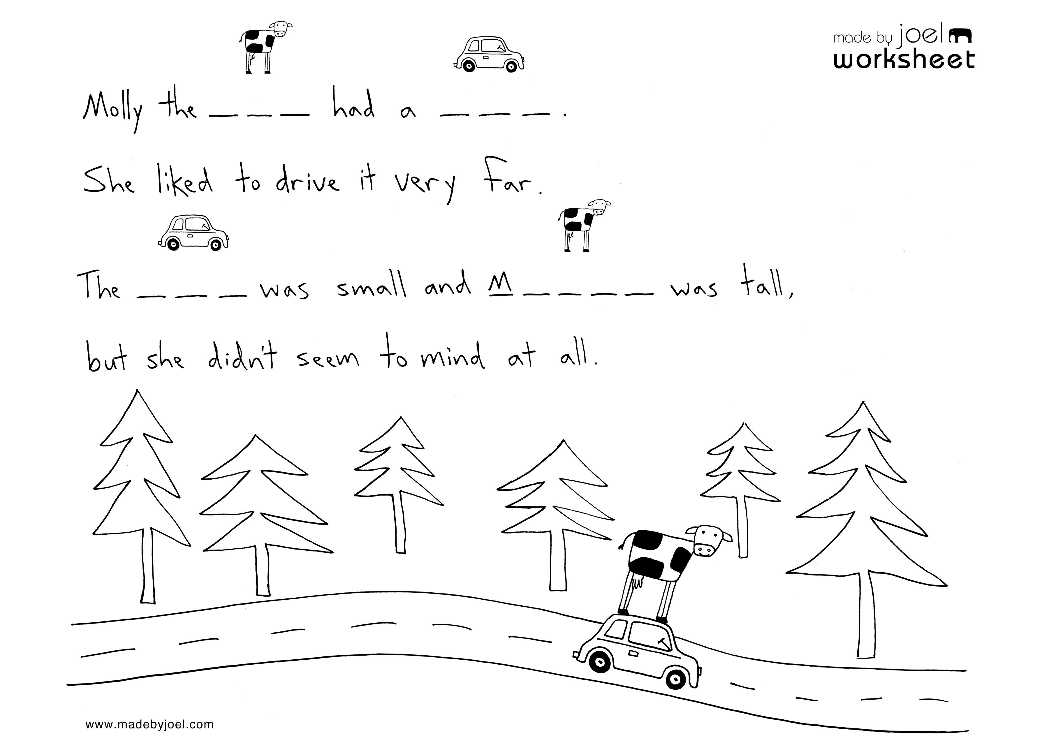 Made By Joel Kids Spelling Worksheet No 2