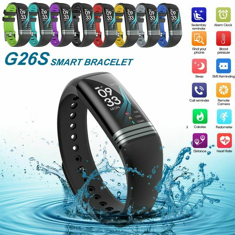 Color Screen Smart Watch Band Blood Pressure Fitness Tracker Activity Sports - Fitness Watch - Ideas...